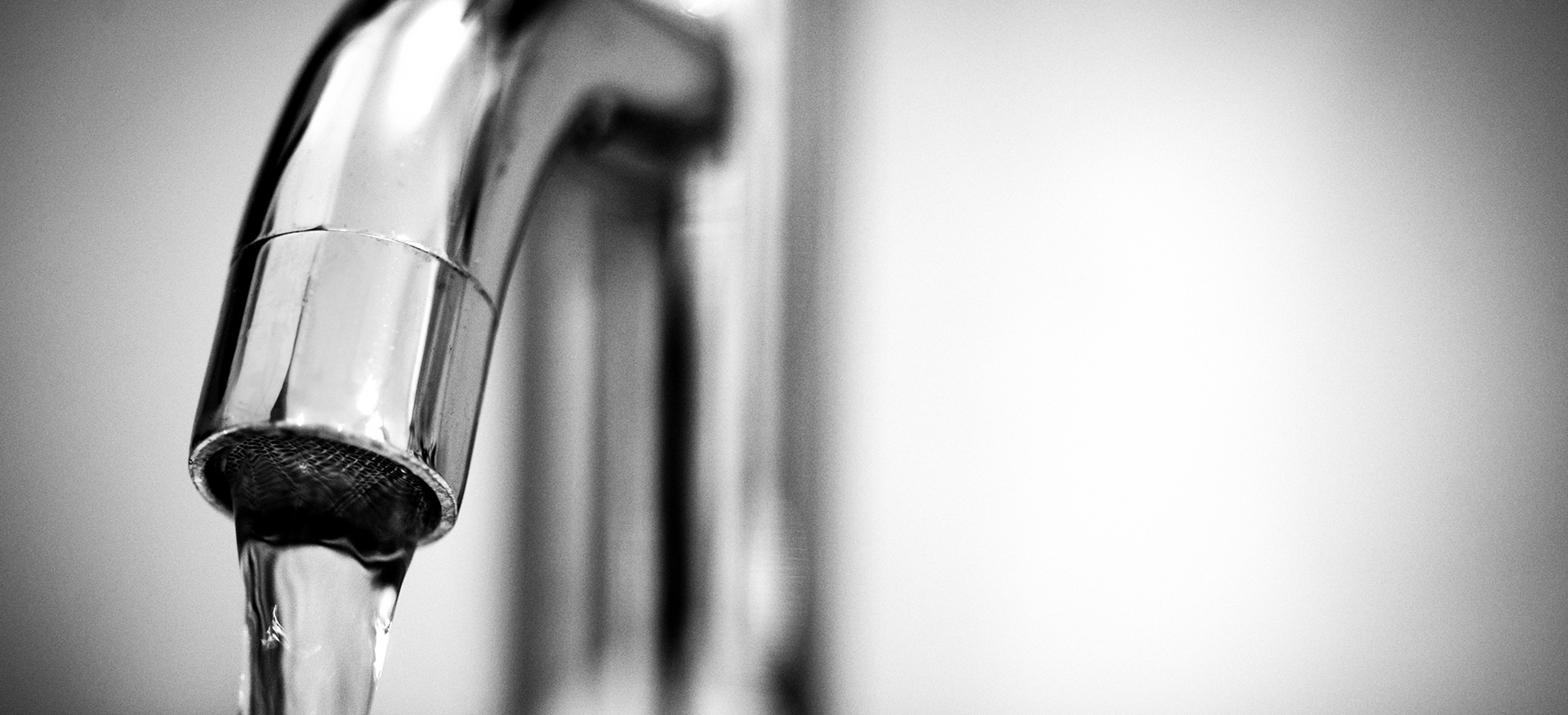 newly installed faucet